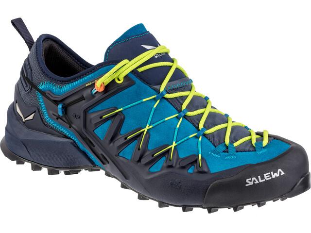 SALEWA Wildfire Edge Zapatillas Hombre, premium navy/fluo yellow